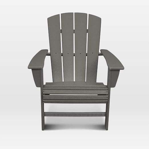 Polywood X West Elm Adirondack Chair