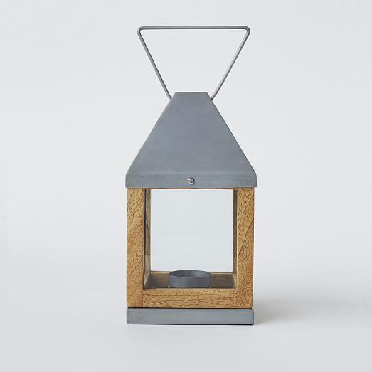 Wood Metal Lanterns