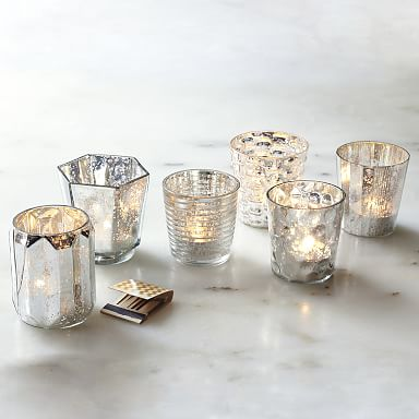 Mercury Tealight Holder (Set of 6)