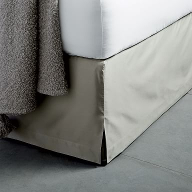 400-Thread-Count Organic Sateen Bed Skirt