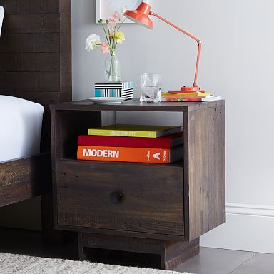 Emmerson® Reclaimed Wood Nightstand - Chestnut