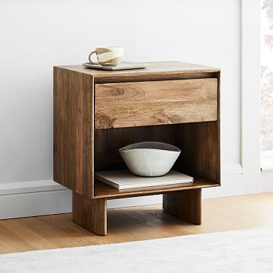 Anton Solid Wood Nightstand