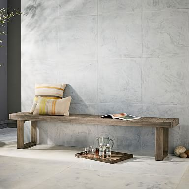 Portside Outdoor Dining Bench
