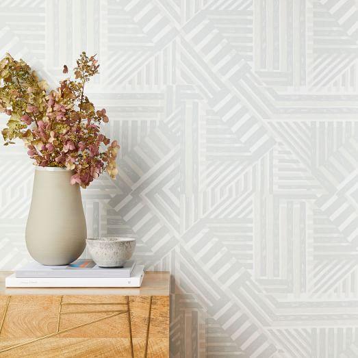 wallshoppe geo bloc print removable wallpaper c
