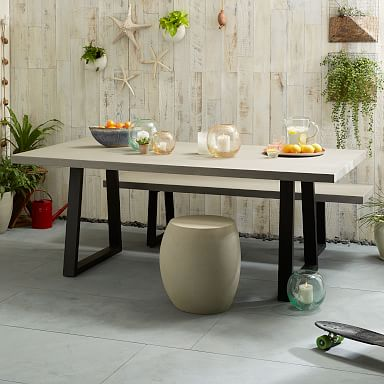 Slab Outdoor Dining Table
