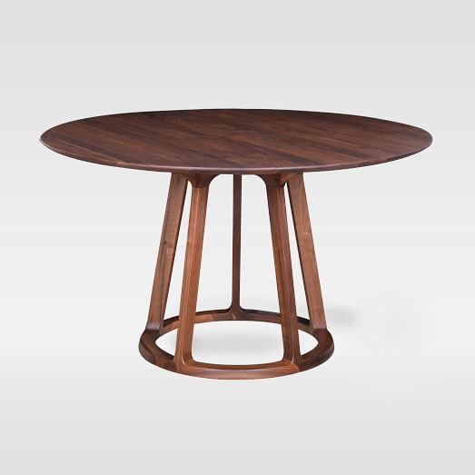Open Pedestal Round Dining Table