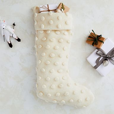 Textured Dot Stocking