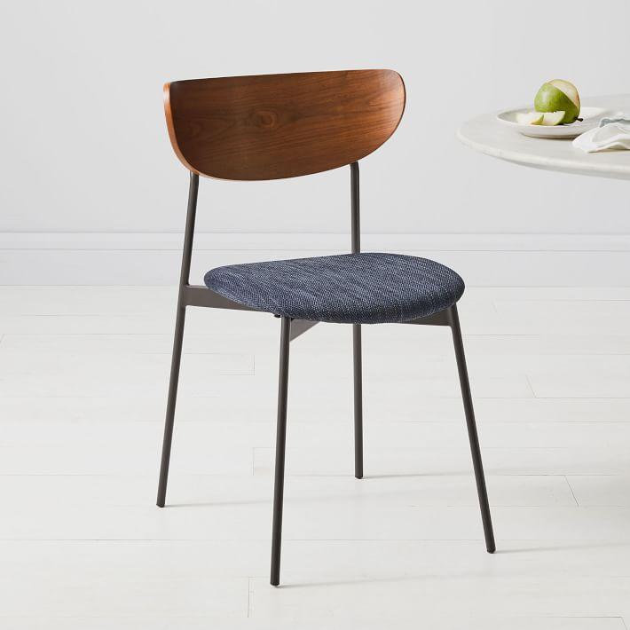 mid-century petal chair