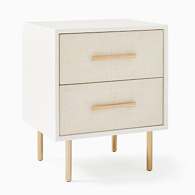 Margot Raffia Nightstand