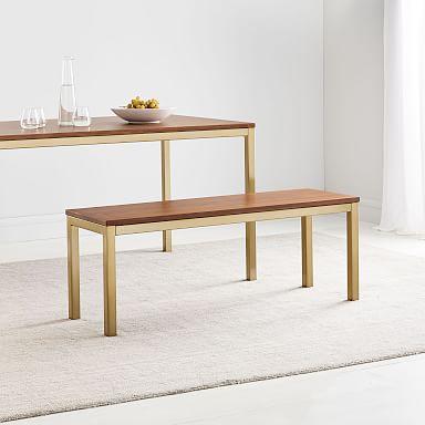 Frame Dining Bench - Walnut