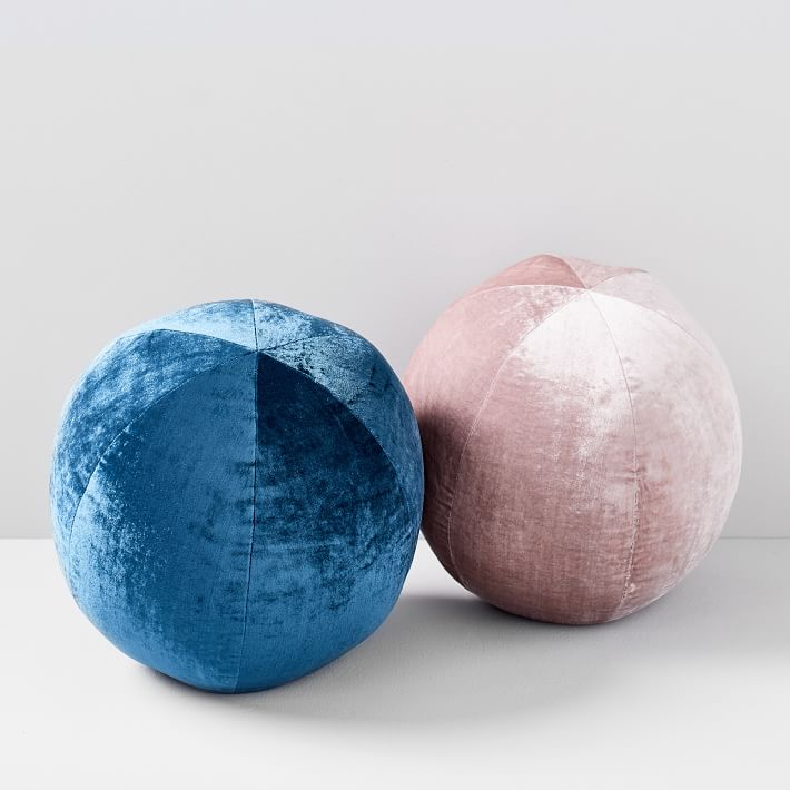 Lush Velvet Sphere Pillow