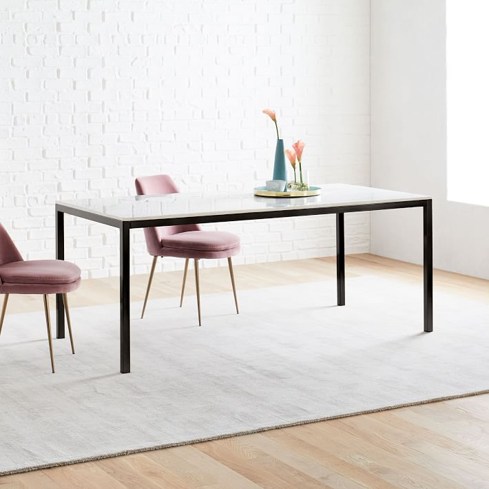Frame Dining Table Marble