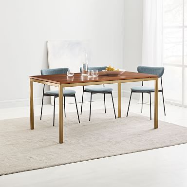 Frame Expandable Dining Table - Walnut