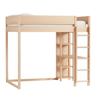 Nash Loft Bed - Natural