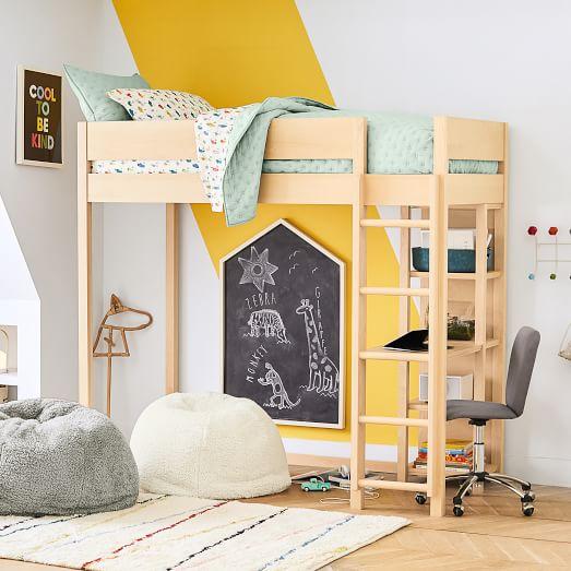 Nash Loft Bed Natural