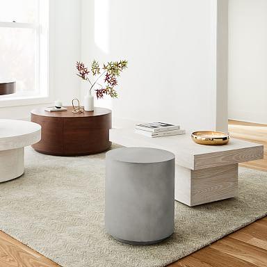 Volume Side Table - Concrete