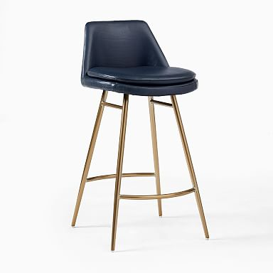 Finley Leather Counter Stool