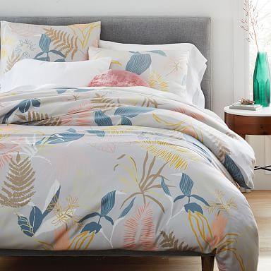 TENCEL™ Lush Floral Duvet Cover & Shams