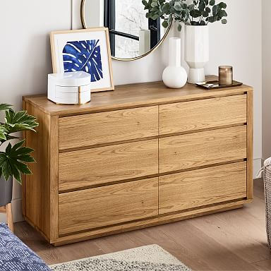 Tahoe 6-Drawer Dresser - Natural Oak
