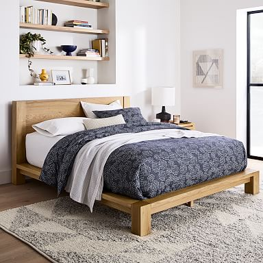 Tahoe Bed - Natural Oak