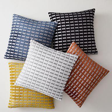Cut Velvet Archways Pillow Covers