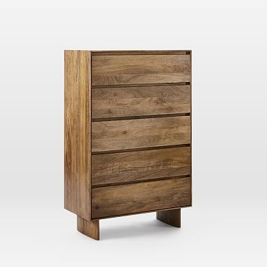 Anton Solid Wood 5-Drawer Dresser