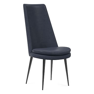Finley High Back Leather Dining Chair
