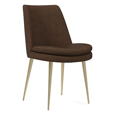 Finley Low Back Vegan Leather Dining Chair