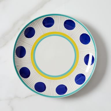 Hand-Painted Dinner Plates