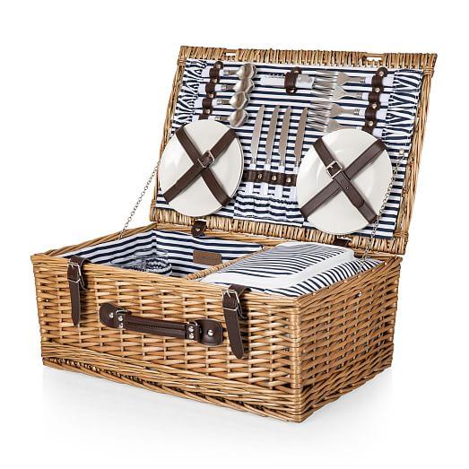 Party Pack Picnic Basket 22 Piece Set
