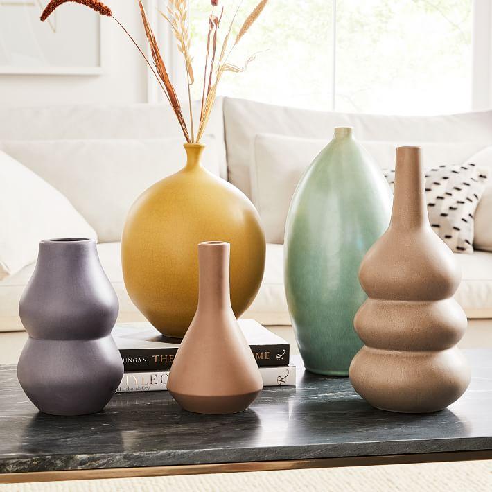 crackle glazed ceramic vases west elm