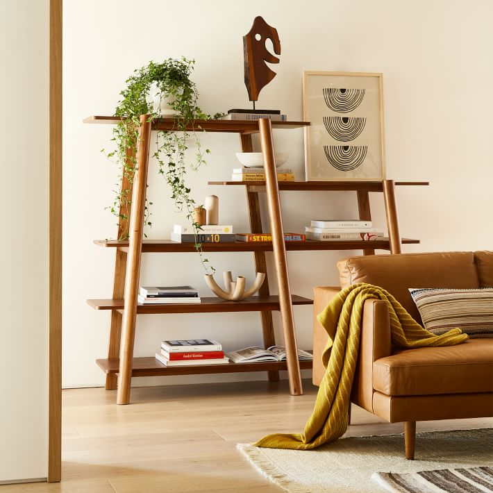 calgary tiered bookshelf west elm