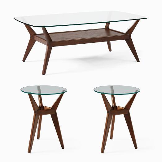 Jensen Coffee Table 2 Side Tables Set