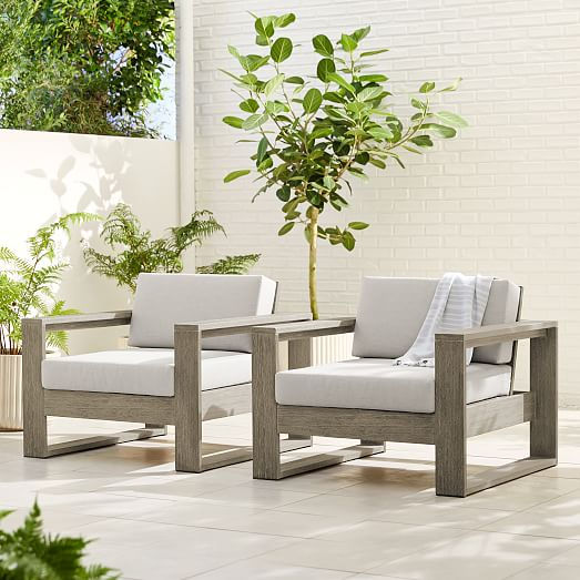 Portside Outdoor Lounge Chair, West Elm Outdoor Furniture