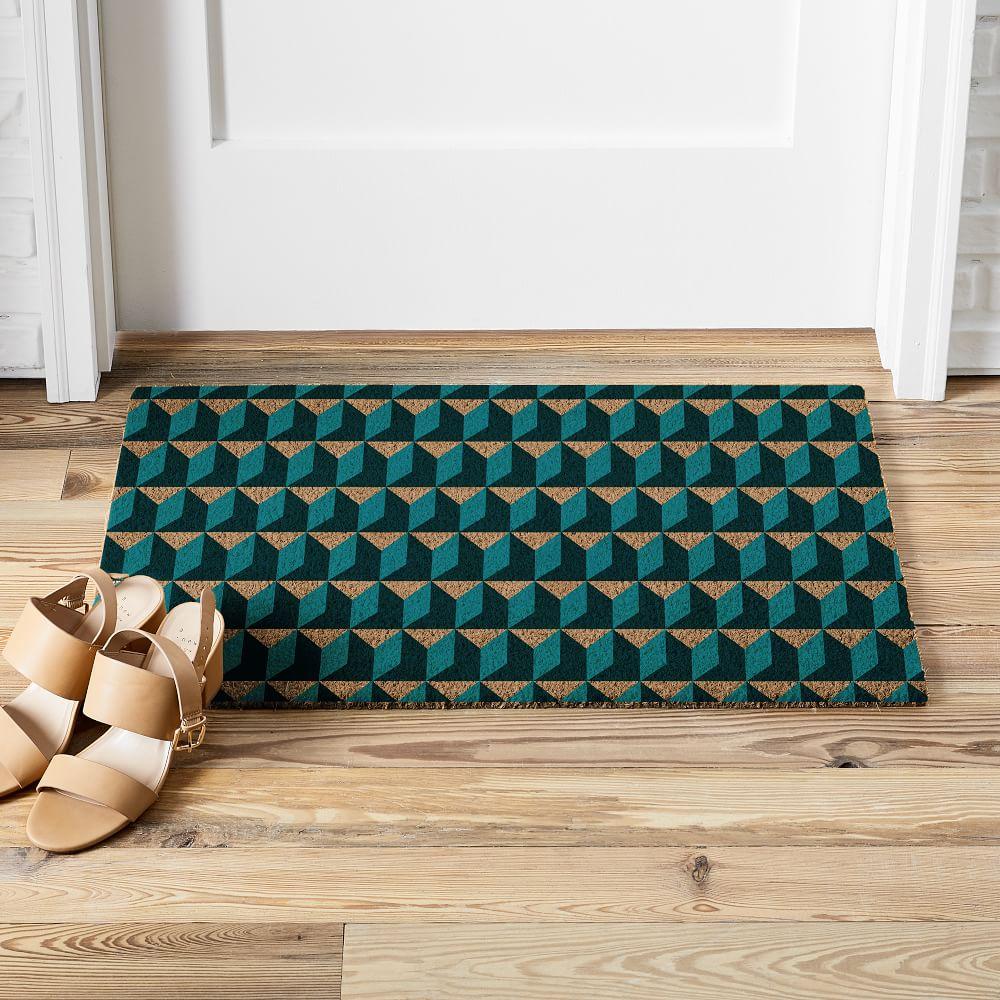 Alternating Geo Doormat