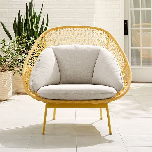 Paradise Outdoor Lounge Chair, West Elm Outdoor Furniture