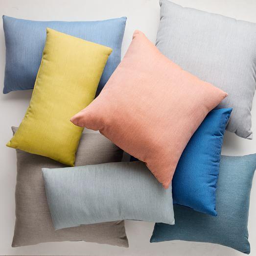 Sunbrella Indoor Outdoor Canvas Pillows