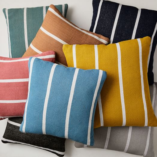 Simple Stripe Indoor Outdoor Pillow