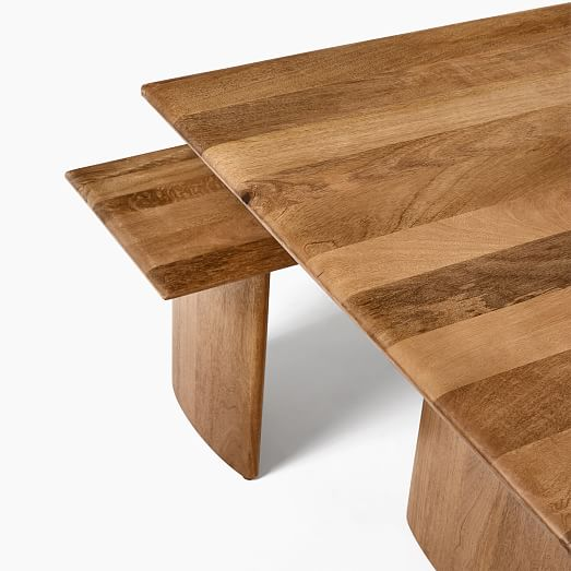 Anton Solid Wood Dining Table 72 2 Bench Set