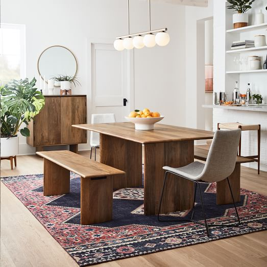 Hayes Linear Chandelier, What Size Linear Chandelier For Dining Room