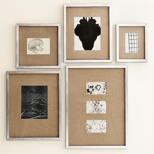 Made in Mexico Vintage Silver Photo Frames