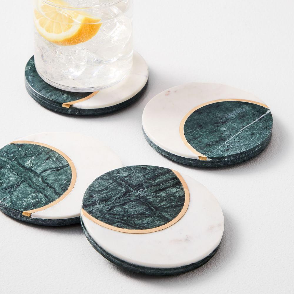 Moon stone Coasters