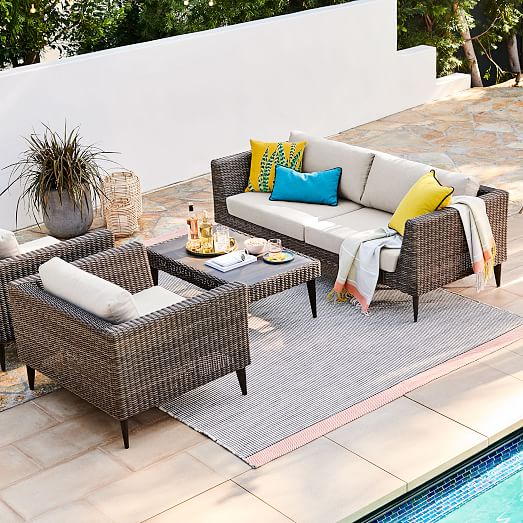 Marina Outdoor Sofa 81, West Elm Outdoor Furniture