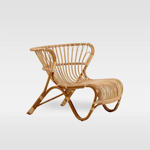 Indoor Rattan Lounge Chair, Rattan Furniture Indoor