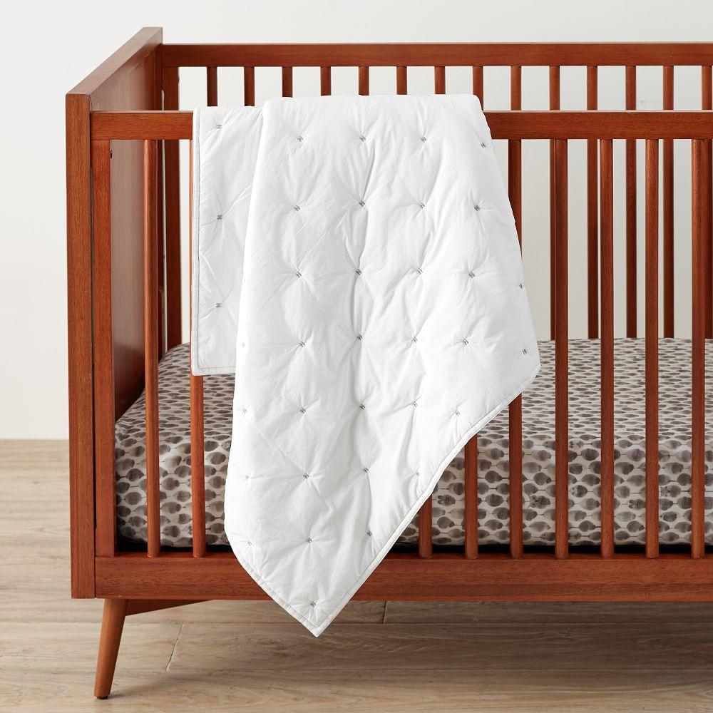 Black White Baby Quilt New York Black White Crib Toddler Bed Quilt