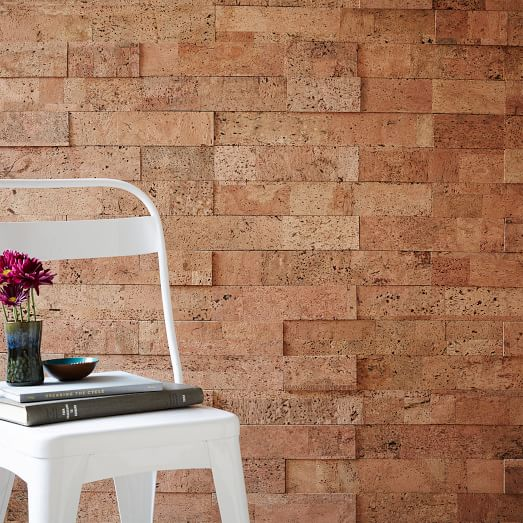 Muratto Cork Wall Covering Natural