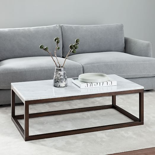 Wood Frame Coffee Table