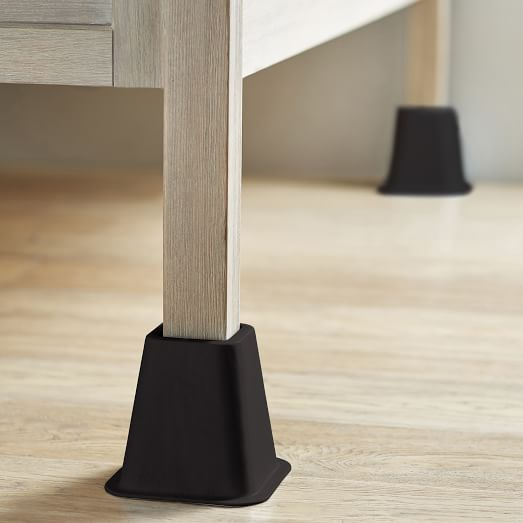 Bed Risers, How To Use Furniture Risers