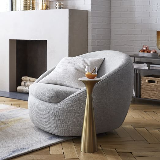 Cozy Swivel Chair, Comfortable Living Room Chairs