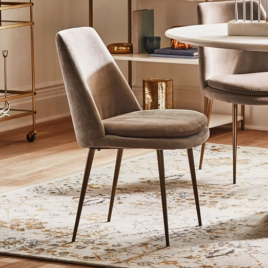 Finley Low Back Upholstered Dining Chair, Dining Bench And Chairs